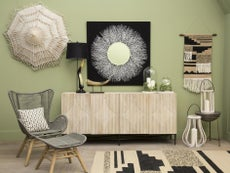 Ретро-вдъхновеното изкуство на окачени стени се завръща