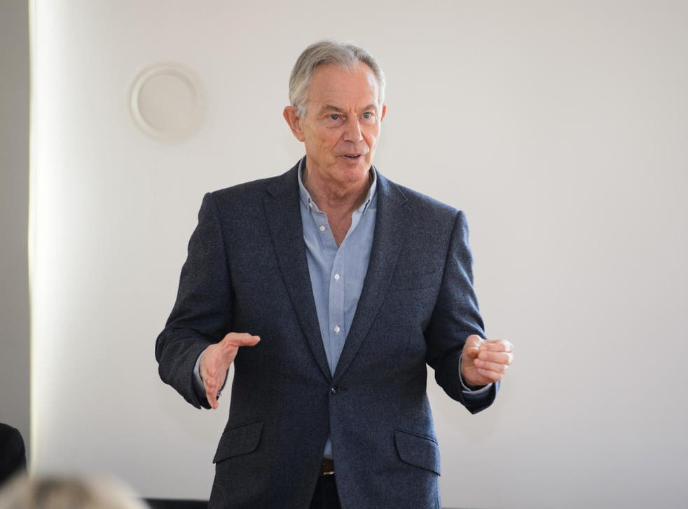 """Mr Blair has urged the Government to """"shift at speed"""" to building a mass testing regime, rather than continuing with targeted and controlled testing."""