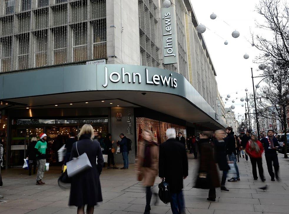 John Lewis's flagship store on London's Oxford Street