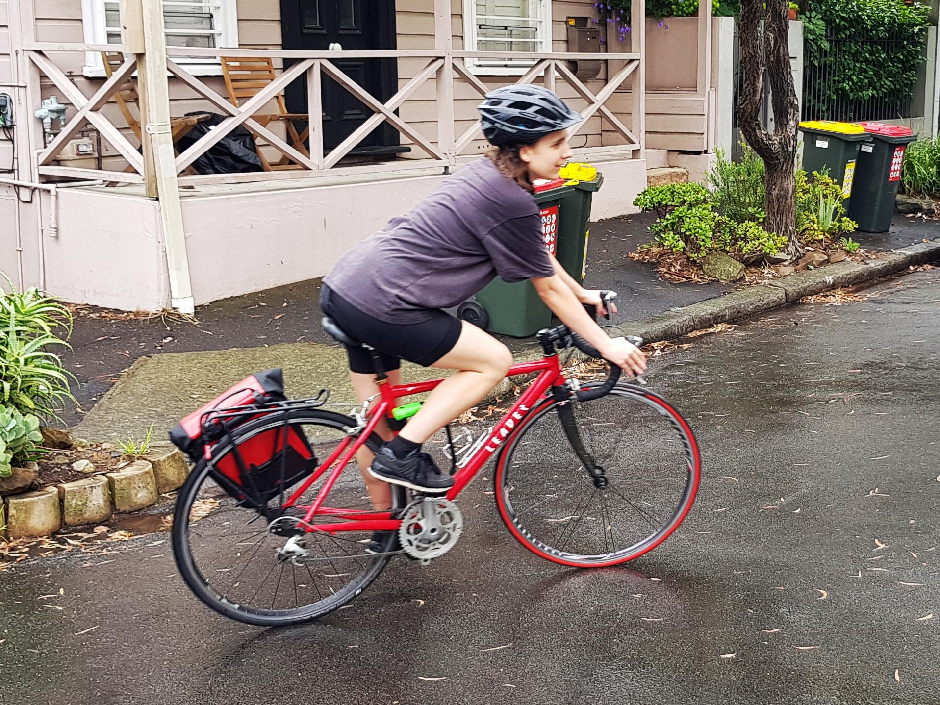 Coronavirus: Books for self-isolation delivered by bicycle from Sydney shop