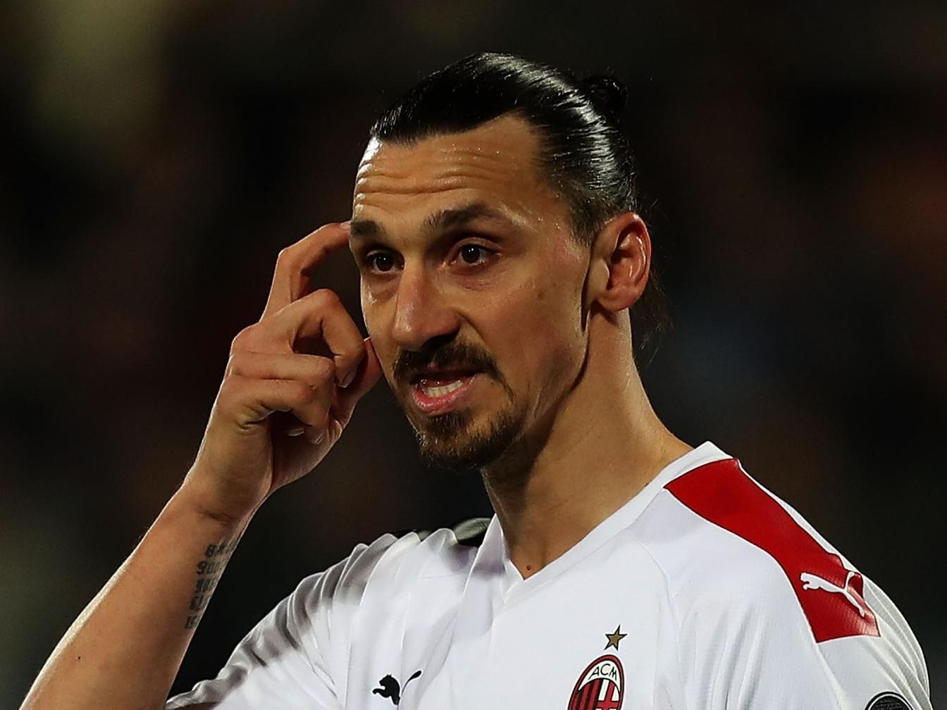 Ibrahimovic suffers calf injury ahead of Serie A restart