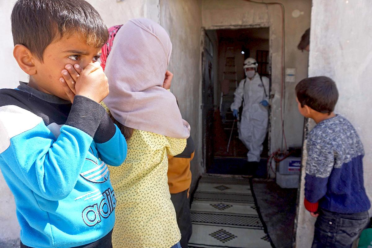 In the Middle East, social distancing due to coronavirus is the preserve of the privileged