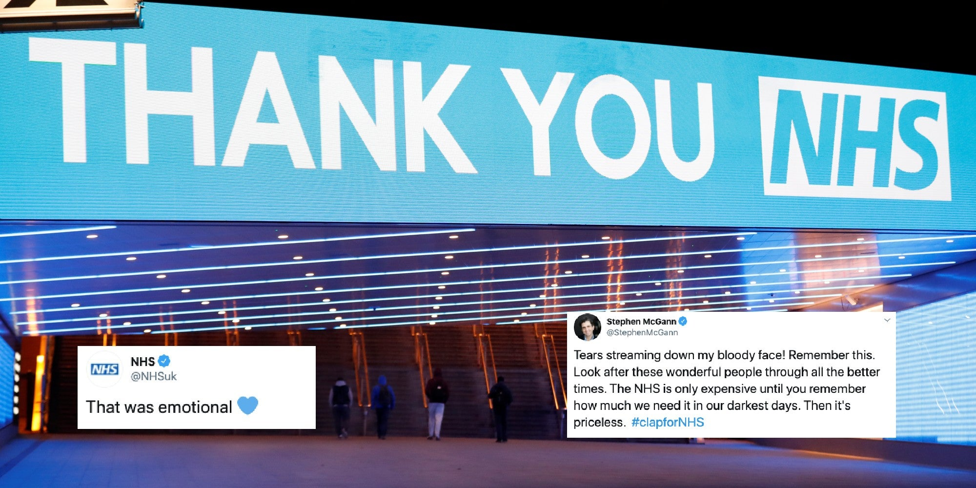 19 of the most moving reactions to last night's nationwide applause for the NHS