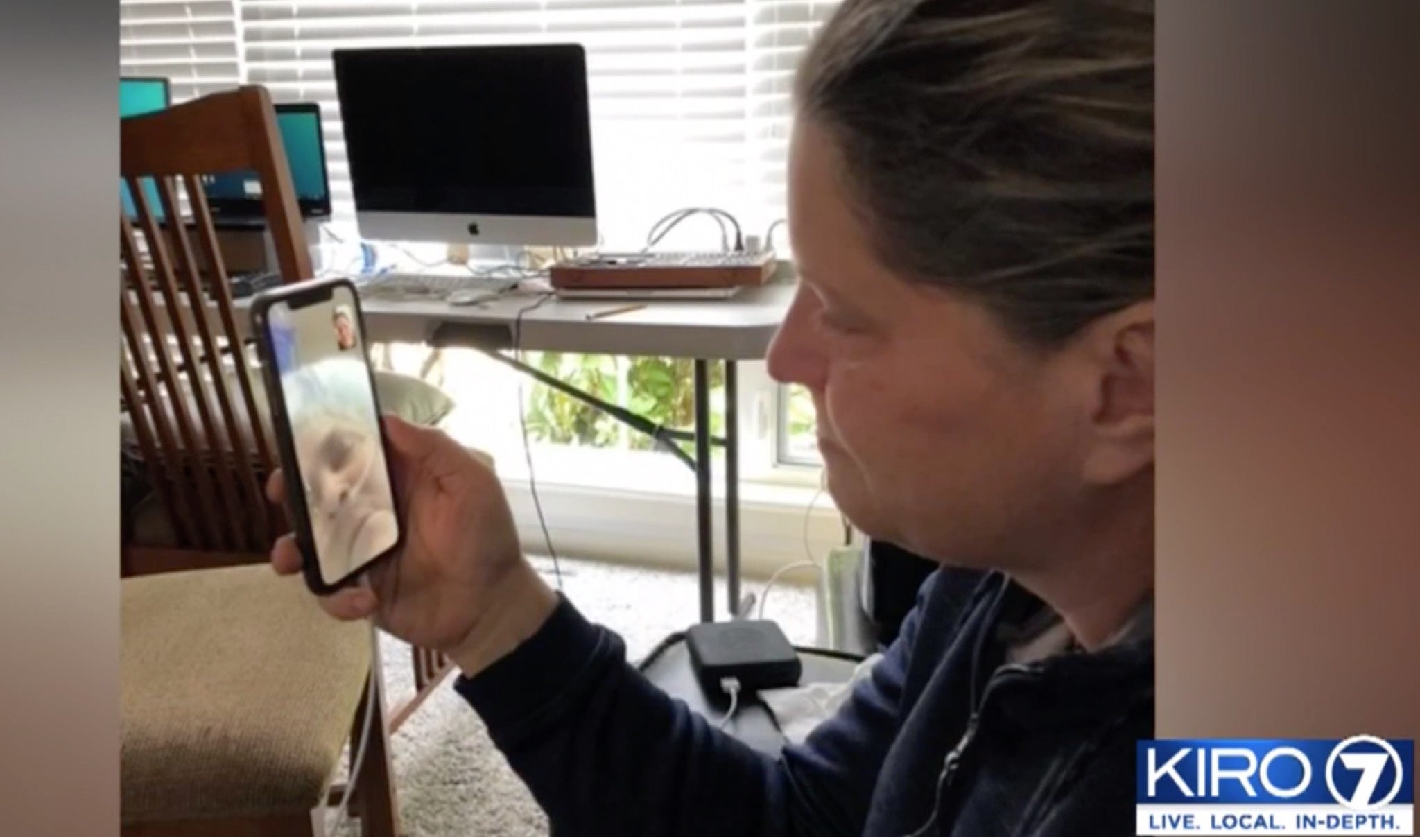'She was not alone': Nurse uses video chat to let daughter say farewell to mother dying of coronavirus - independent