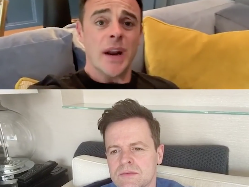 Saturday Night Takeaway: Ant and Dec to stream final live from home
