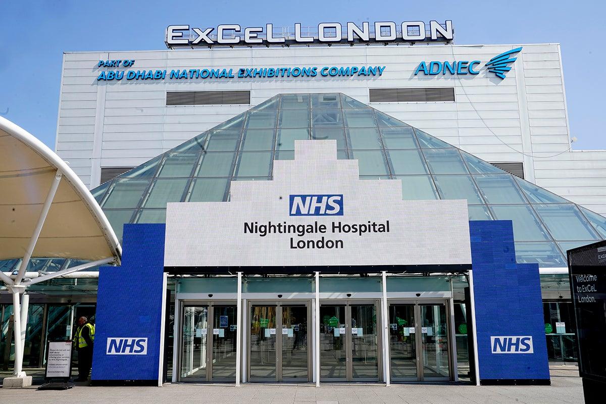 Coronavirus: NHS Nightingale chief says NHS must 'never go back' to old bureaucratic ways thumbnail