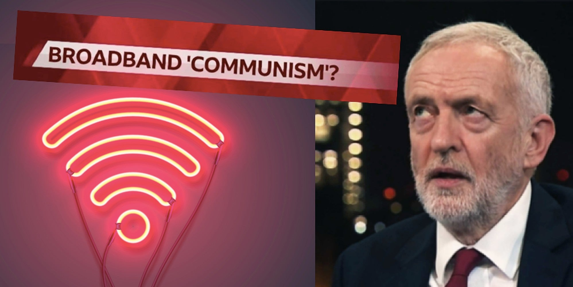 Tories now think broadband is a 'need-to-have' public utility and Labour supporters are saying 'I told you so'