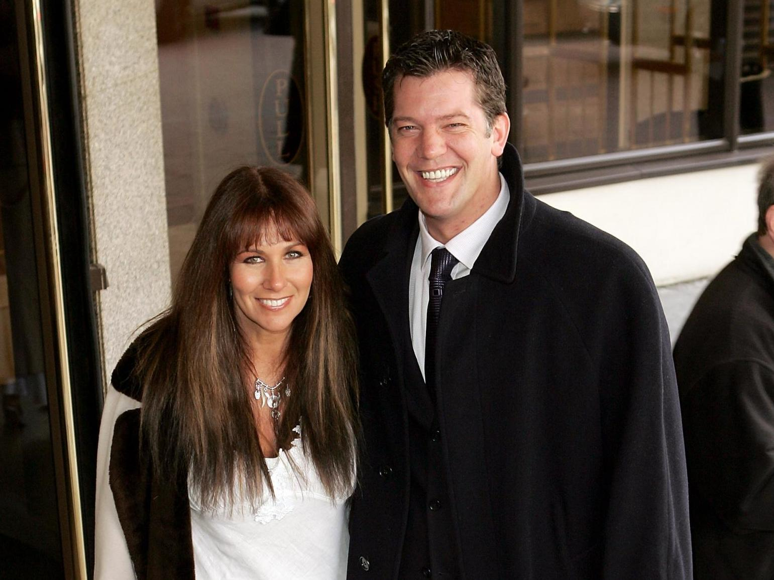 Linda Lusardi's husband heaps praise on NHS after wife released from hospital