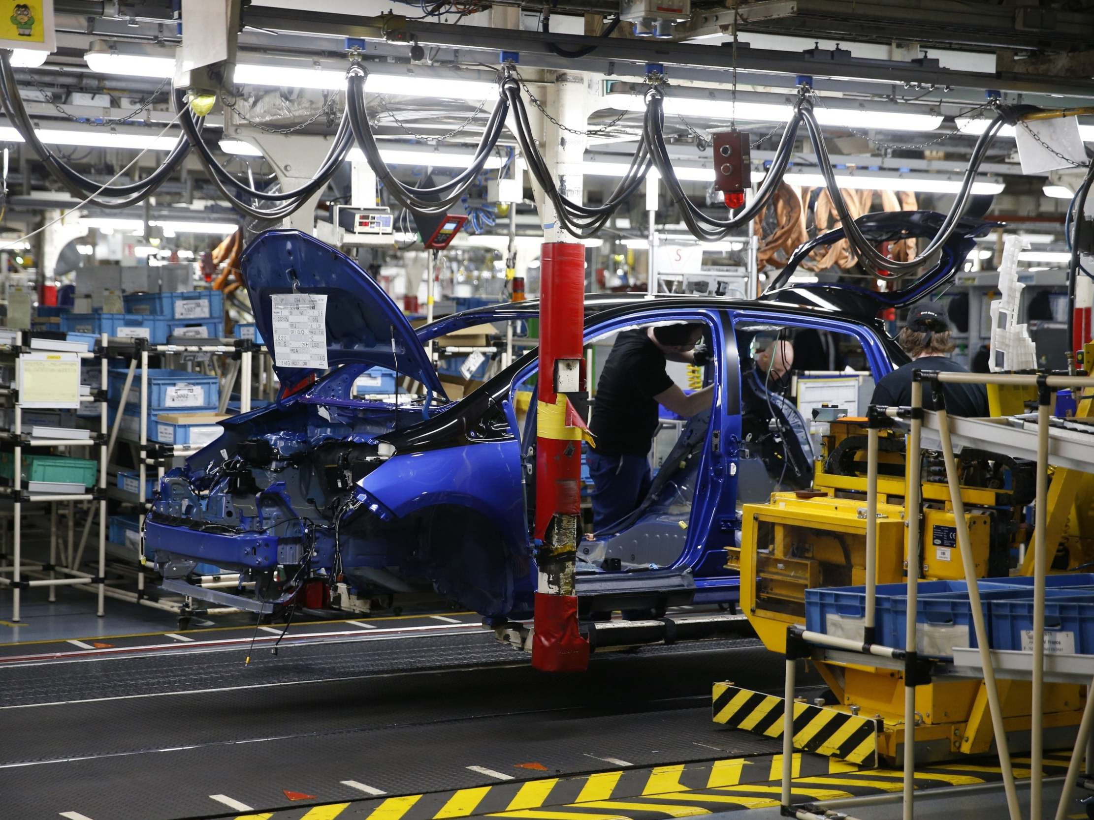 UK economy shrunk before coronavirus pandemic in February, latest figures show