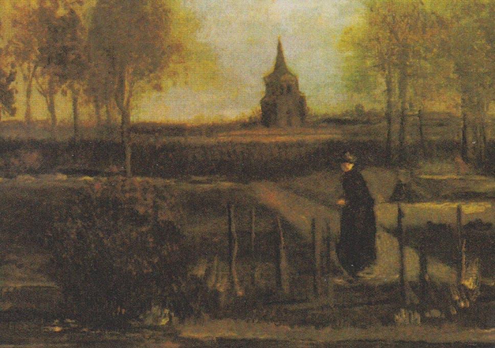Spring Garden Van Gogh Painting Stolen From Netherlands Gallery