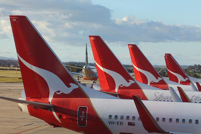 Qantas, like other airlines, has been forced to ground most of its fleet for the time being
