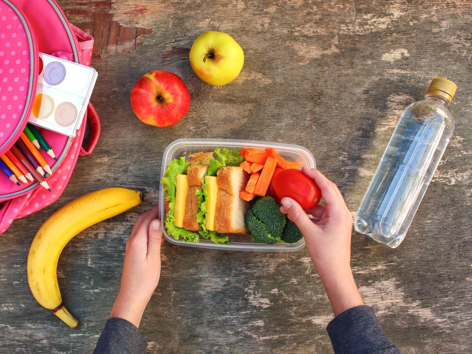 How do grocery store vouchers for kids on free faculty meals work?