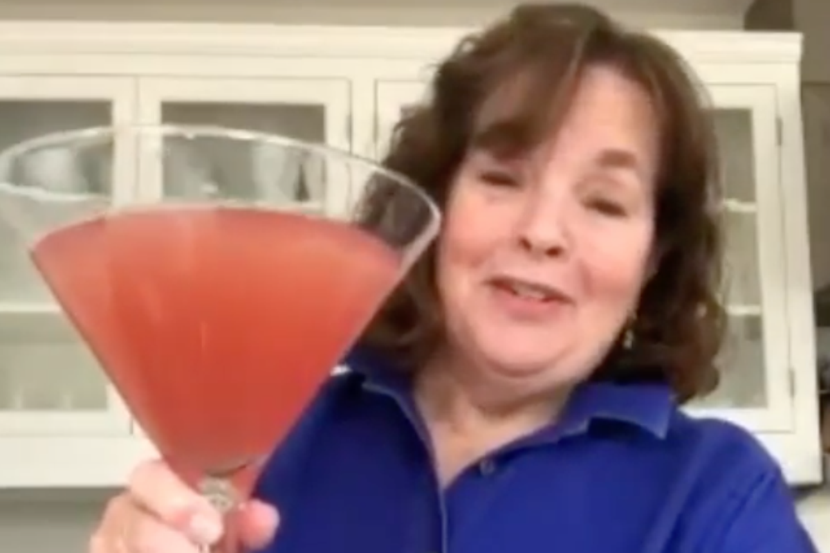 Ina Garten Shares Recipe For Huge Pitcher Of Cosmos During A Crisis Cocktail Hour Can Be Any Hour The Independent The Independent