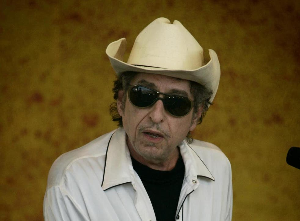 Psyche thriller: Bob Dylan playing in New Orleans ahead of the release of 'Modern Times' in 2006