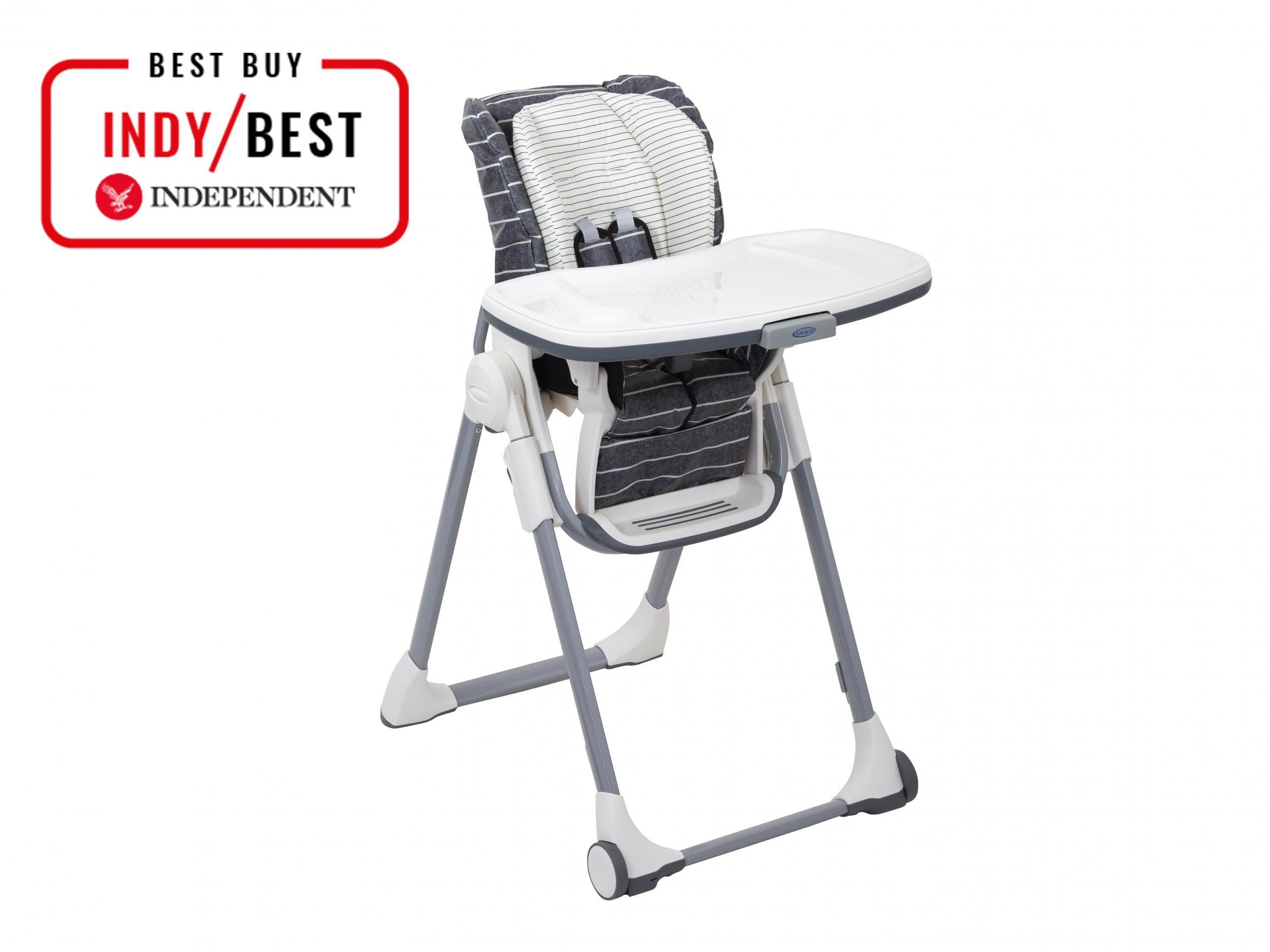 POUCH baby kids Adjustable folding highchair feeding chair 3 levels food grade