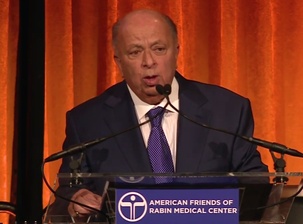 Stanley Chera at the American Friends of Rabin Medical Center (AFRMC) 2014 gala