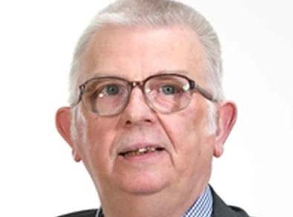 John Carson, the DUP councillor for Ballymena, Co Antrim, who said the coronavirus pandemic represents God's judgment after an 'immoral and corrupt' government legalised abortion in Northern Ireland