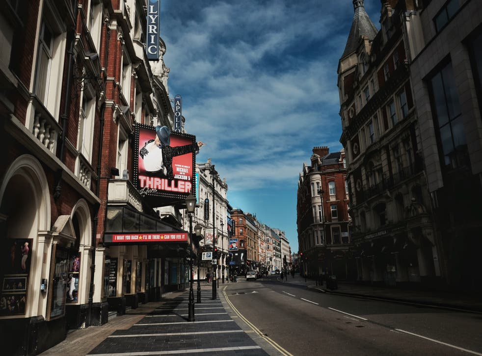 London's West End is deserted during lockdown, but there may be another way to save British theatre