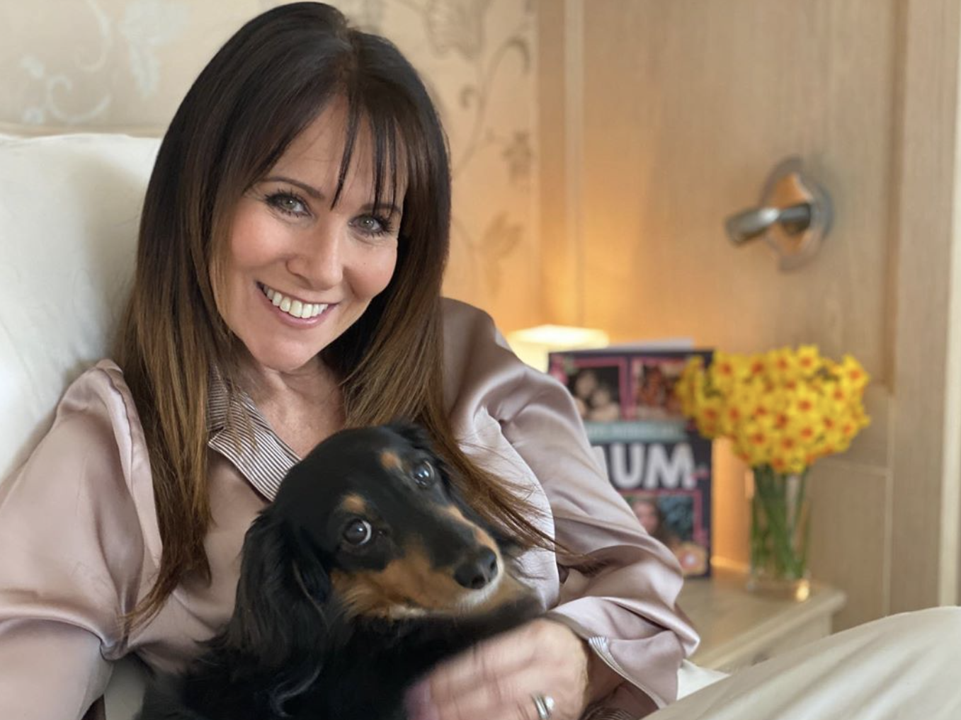 Linda Lusardi says it's 'good to be home' after coronavirus battle