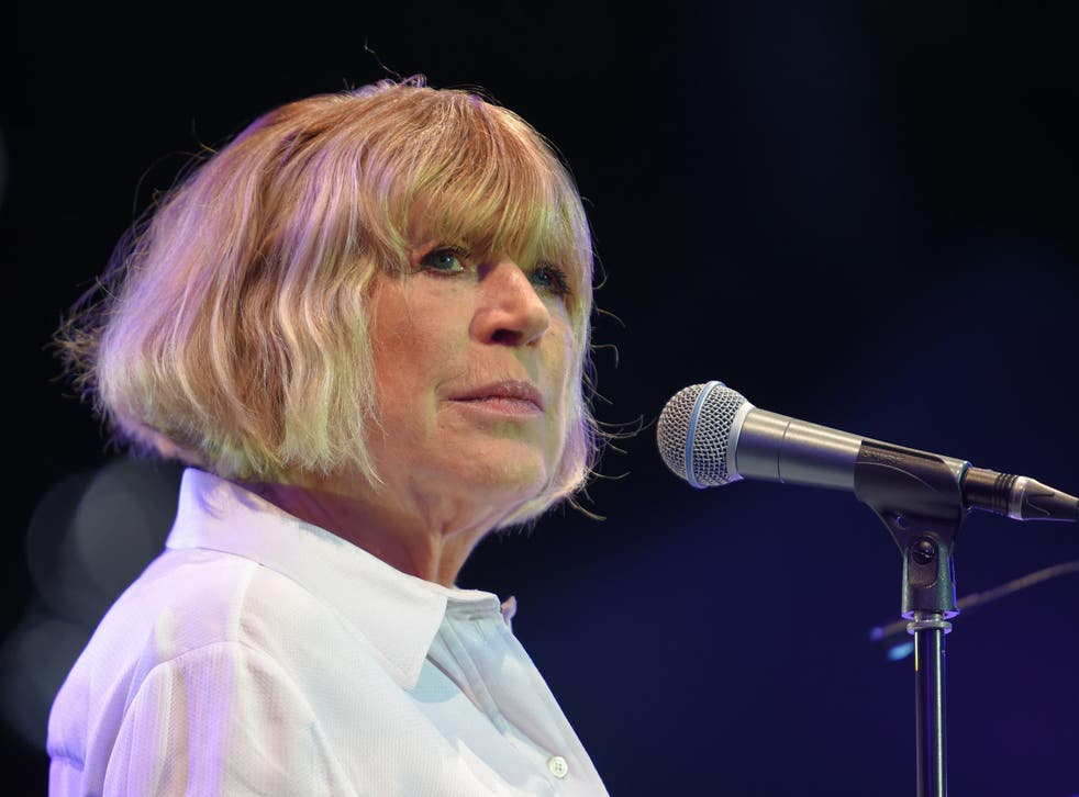 Marianne Faithfull performing in 2016
