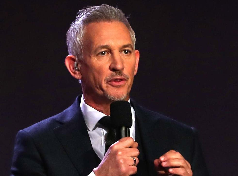 Gary Lineker believes people need to stop using Premier League footballers as scapegoats