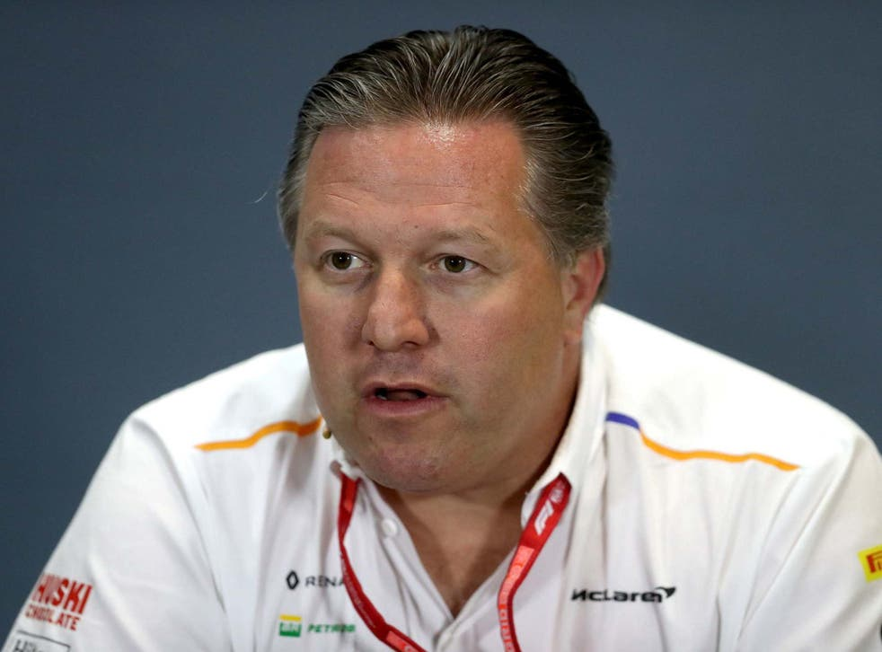 McLaren chief executive Zak Brown believes F1 is 'in a very fragile state'