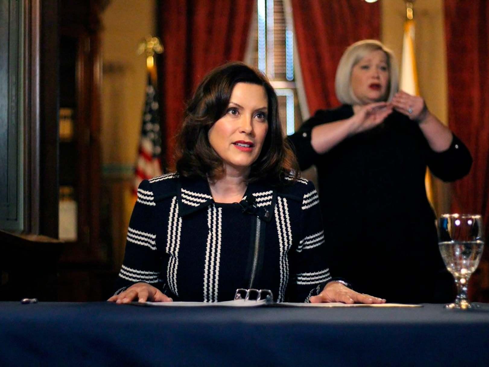 Michigan governor defends Biden over sexual assault claim: 'I know Joe' photo