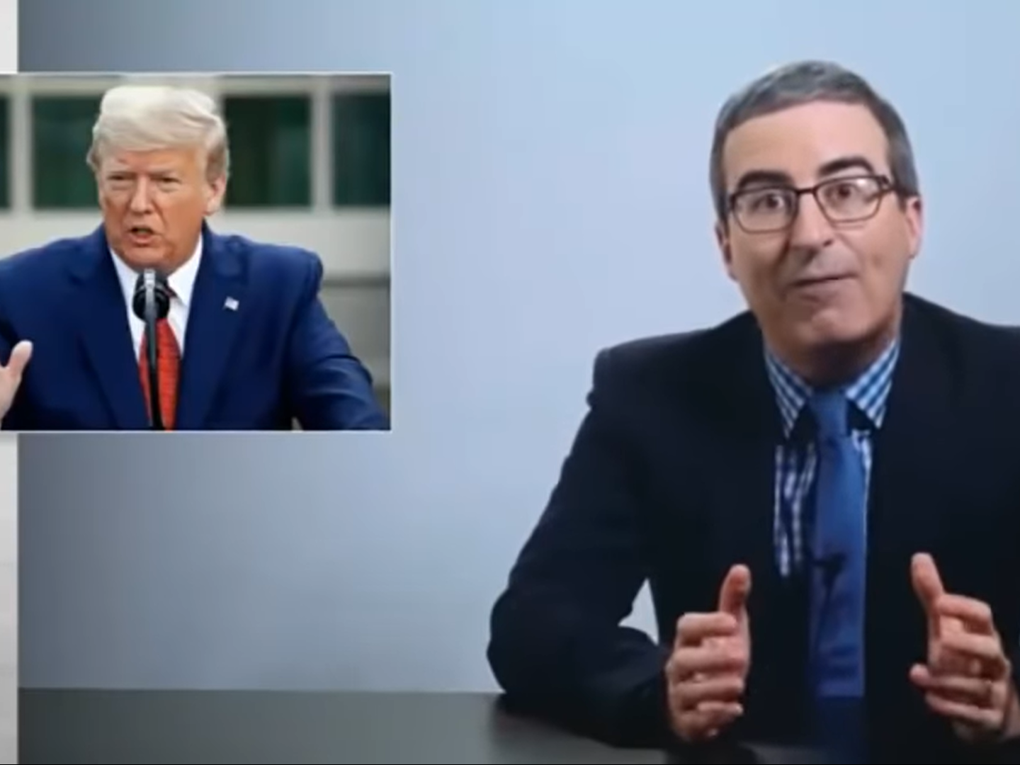 John Oliver calls out 'indescribable' Trump over 9/11 lie