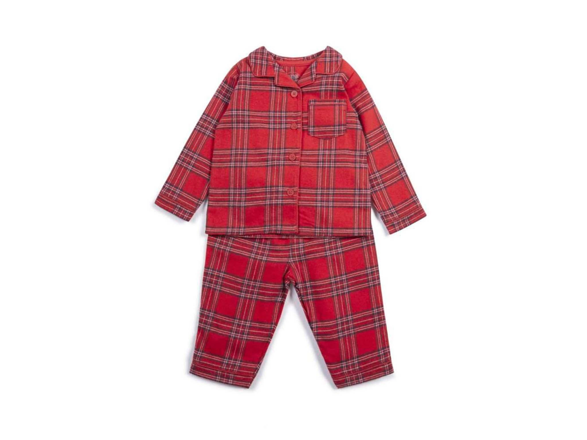 ywbtuechars Cute Christmas Family Outfits Long Sleeve Kids Baby Man Woman Pajamas Sleepwear Night Clothes Nightgown Baby-100