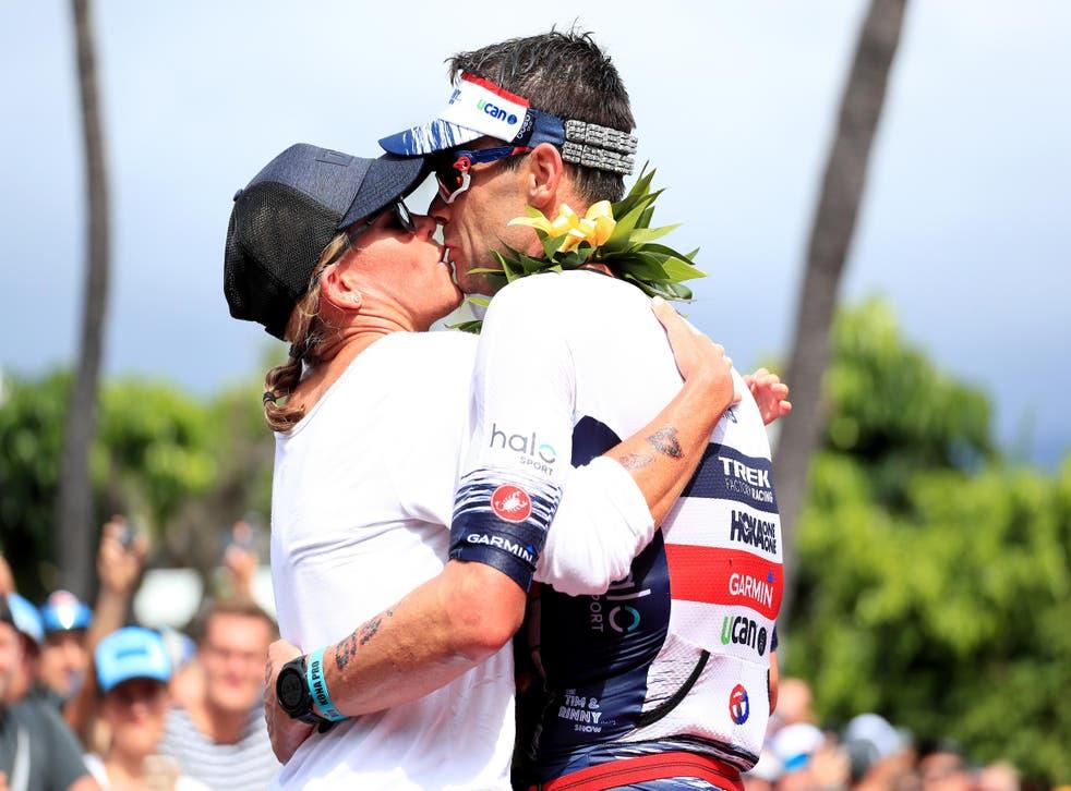 "Mirinda Carfrae, a former triathlon world champion, said she wouldn't seek ""retribution"" over her husband's mistake"