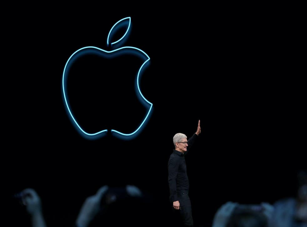 Apple CEO Tim Cook delivers the keynote address during the 2019 Apple Worldwide Developer Conference (WWDC) at the San Jose Convention Center on June 03, 2019 in San Jose, California
