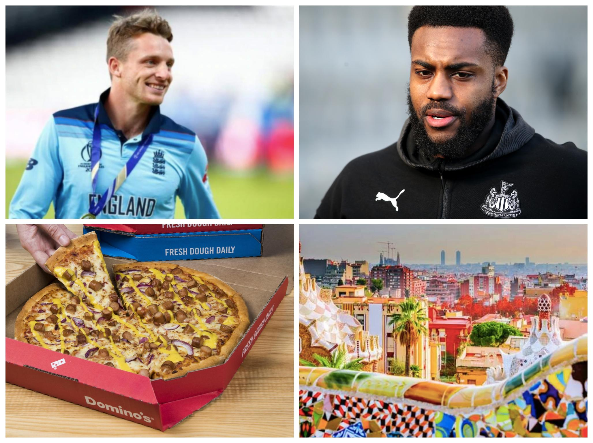 Reasons for sports fans to stay positive: Danny Rose's pizza delivery, Jos Buttler's shirt and more