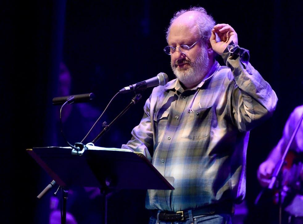 Hal Willner at a celebration of Allen Ginsberg's 'Howl' on 7 April 2015 in Los Angeles.