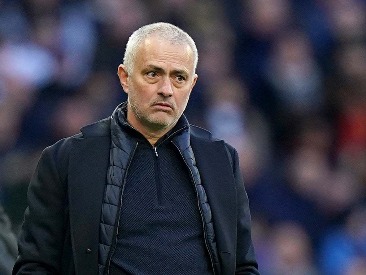 Jose Mourinho issues statement after breaking government lockdown by holding training session with Tanguy Ndombele