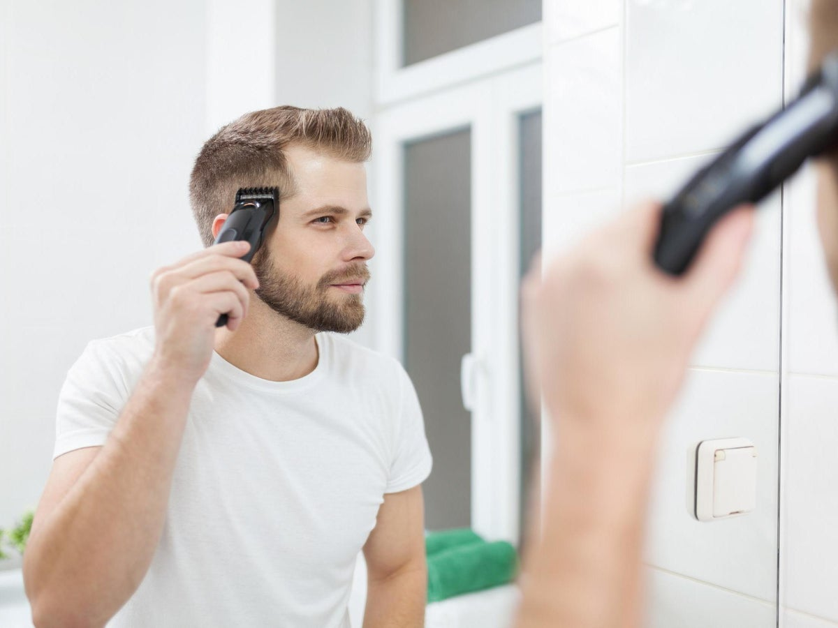 Haircuts At Home How To Do Men S Hair With Clippers The Independent
