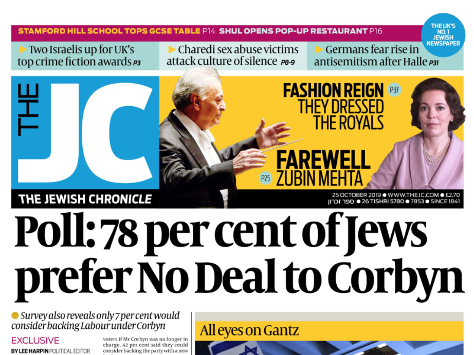 Jewish Chronicle and Jewish News to enter into liquidation