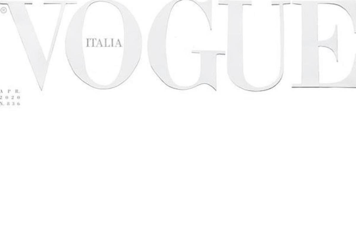 Coronavirus: Vogue Italia April issue will have blank cover to honour  Covid-19 victims   The Independent   The Independent
