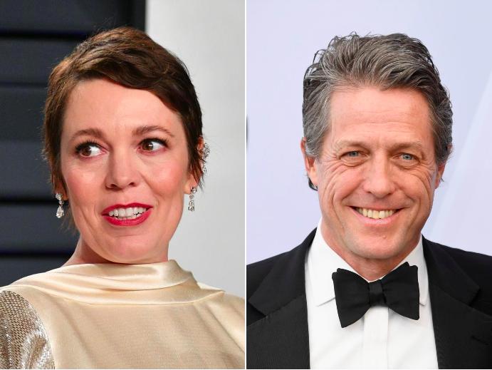 Olivia Colman and Hugh Grant among stars to thank NHS for coronavirus fight