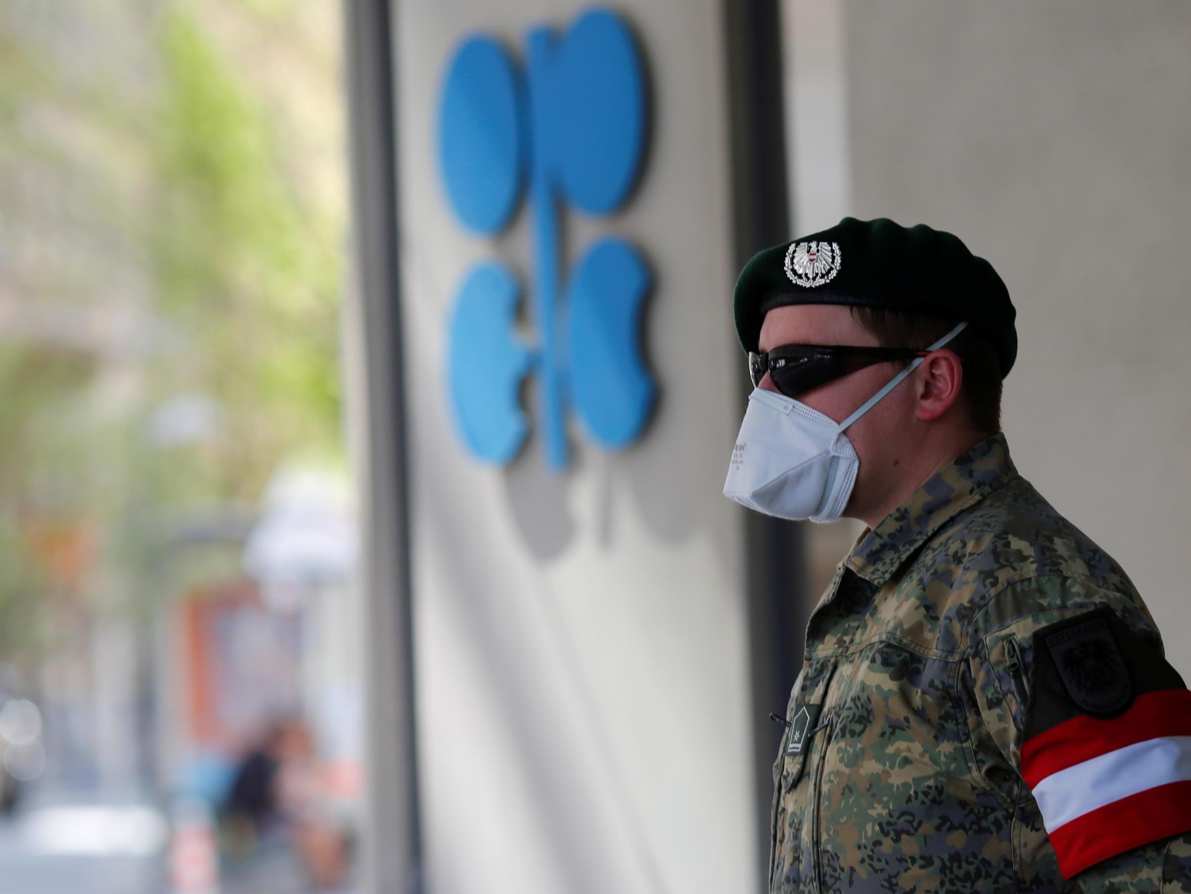 Oil producing nations agree historic cut in face of coronavirus crisis