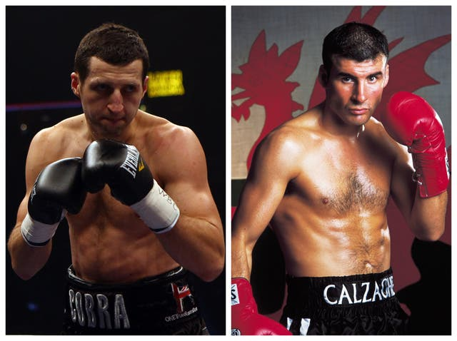 Carl Froch is chasing an unlikely fight with Joe Calzaghe