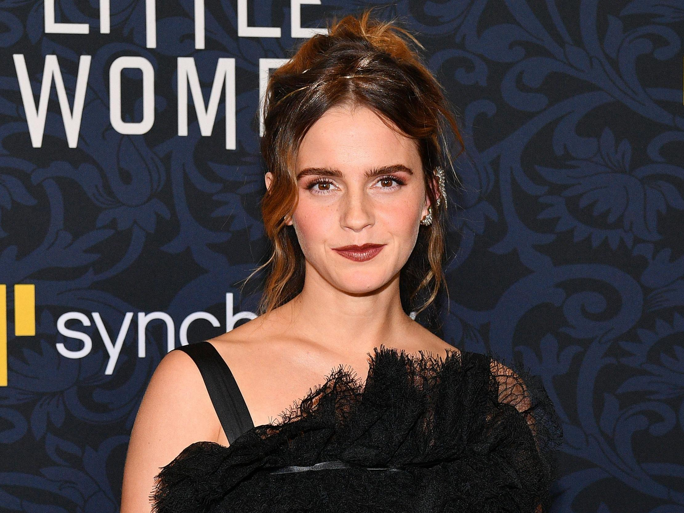 Emma Watson admits she 'needs to work harder' following Blackout Tuesday backlash