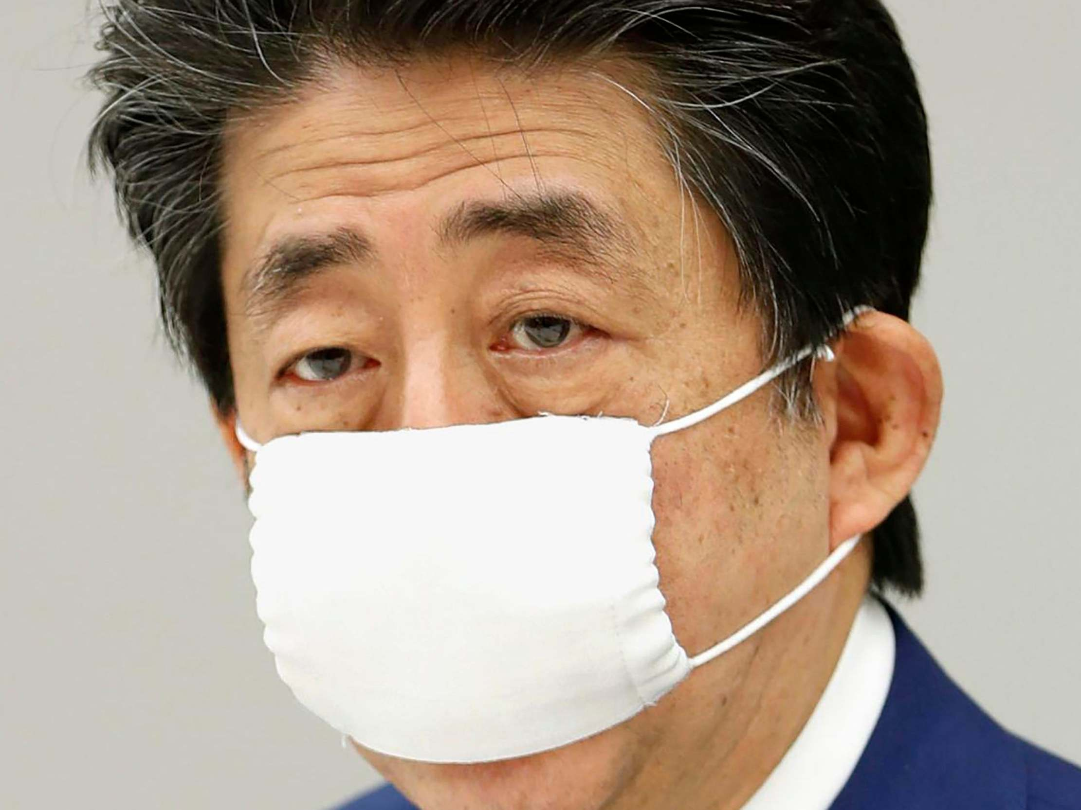Coronavirus: Japan PM irks public with 'stay at home' video lounging on sofa thumbnail