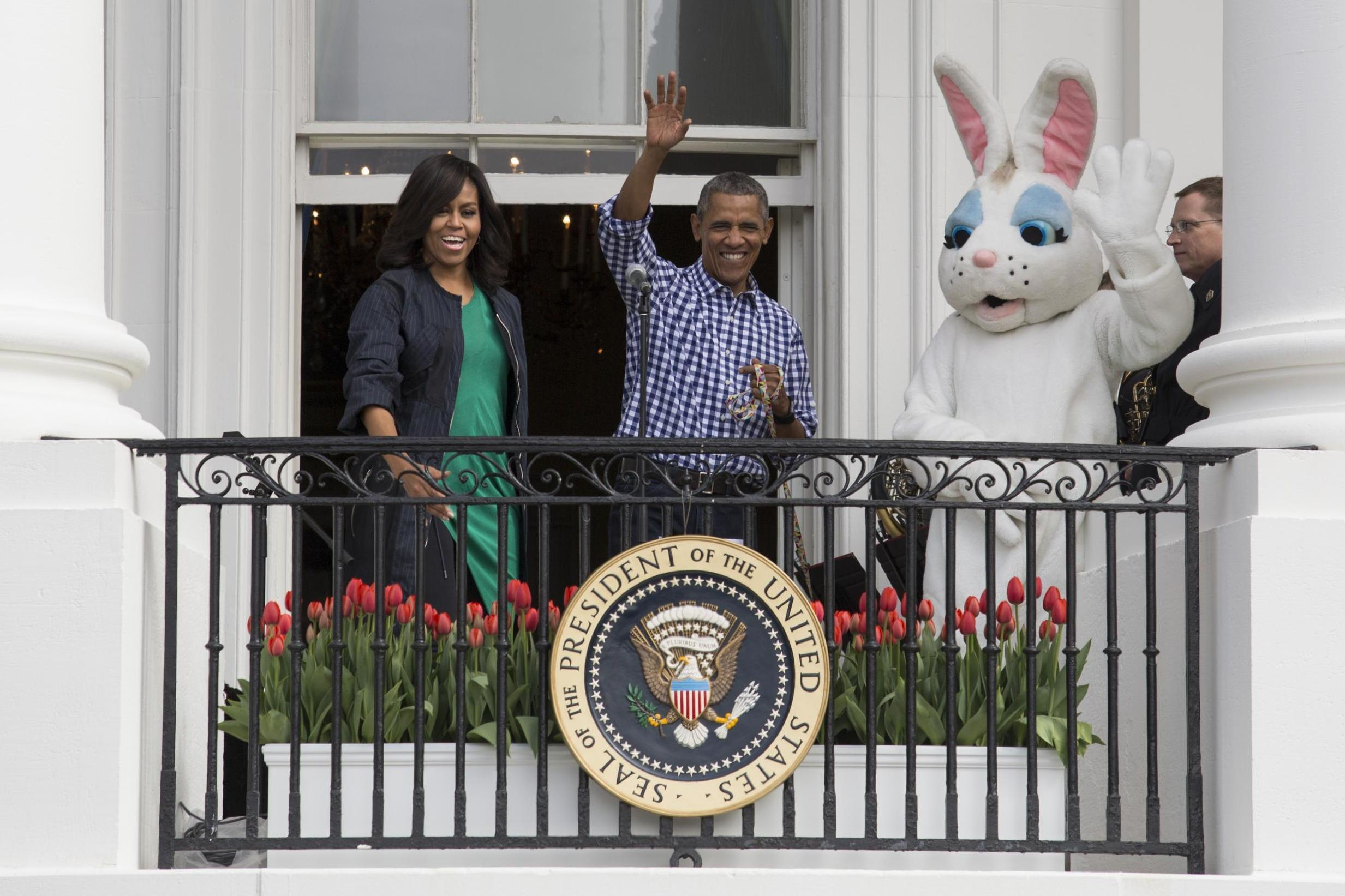 Michelle Obama says she feels 'newfound sense of gratitude for all the little moments' in Easter message thumbnail