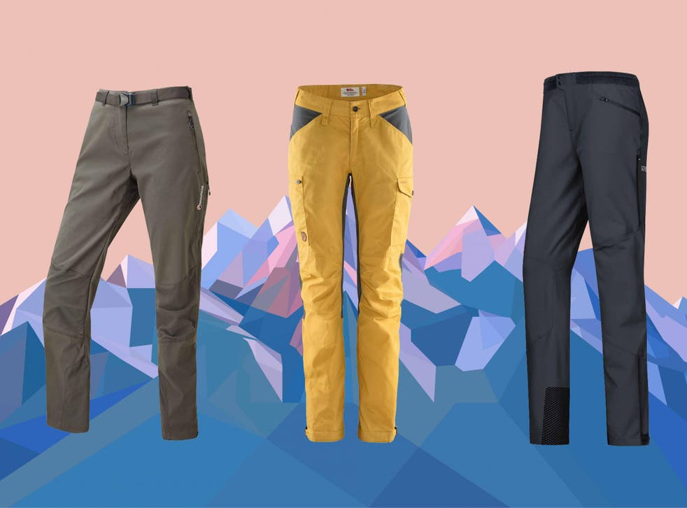 Look for zipped pockets and material that repels insects, and you'll be OK