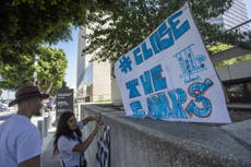 Democrats demand suspension of ICE arrests as detainee infections leap