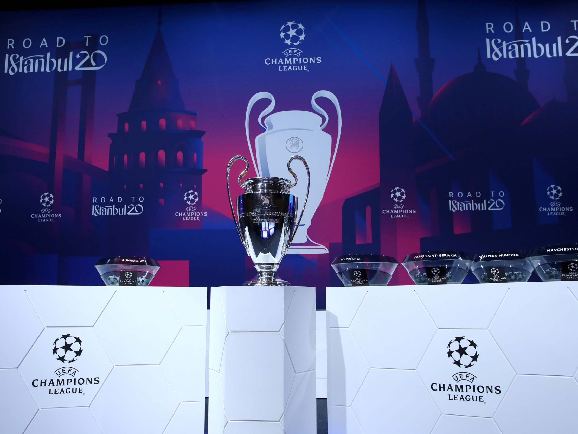 Uefa Champions League return date announced with new 'final eight' mini tournament thumbnail