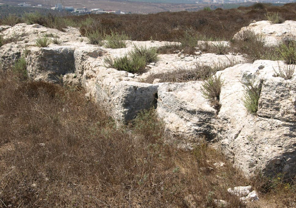 Limestone quarrying was an important industry in the Nazareth area. The main quarries were used to produce stone for the region's construction industry. Smaller quarries were used to produce ritually important stone bowls and cups