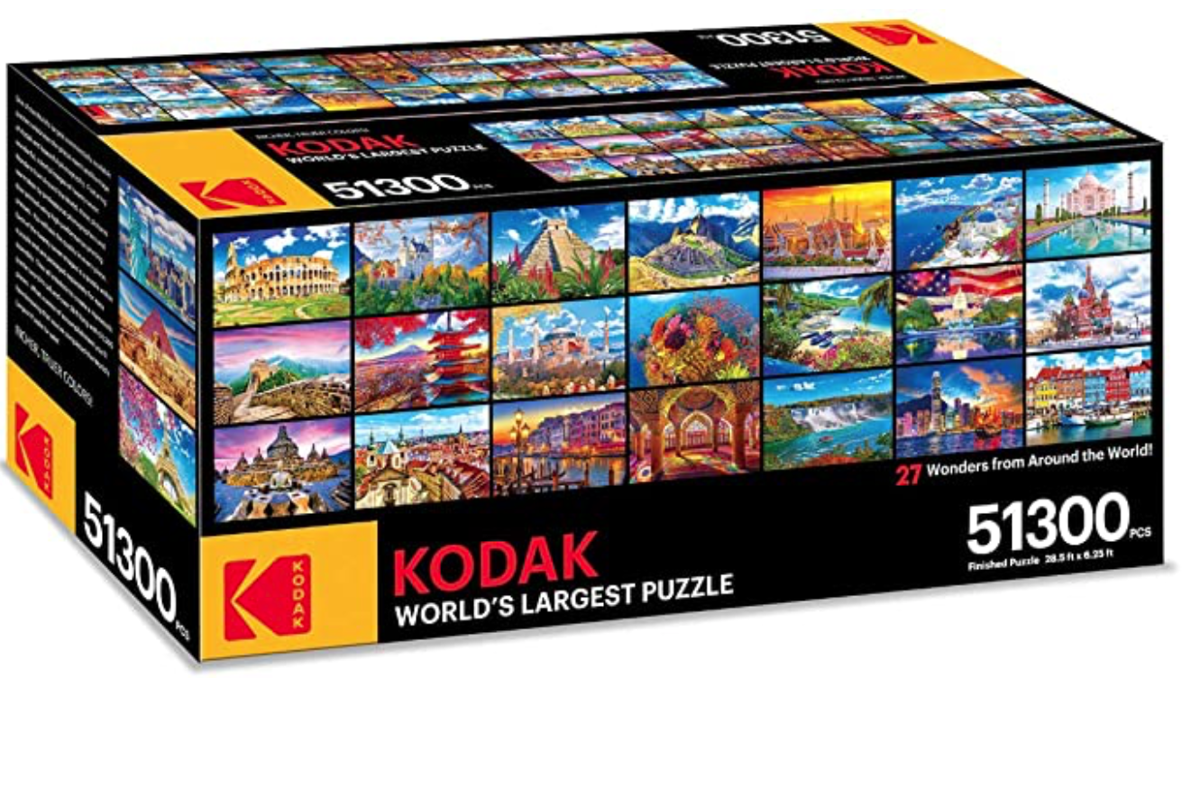 Kodak selling 'world's largest puzzle' with 51,300 pieces thumbnail
