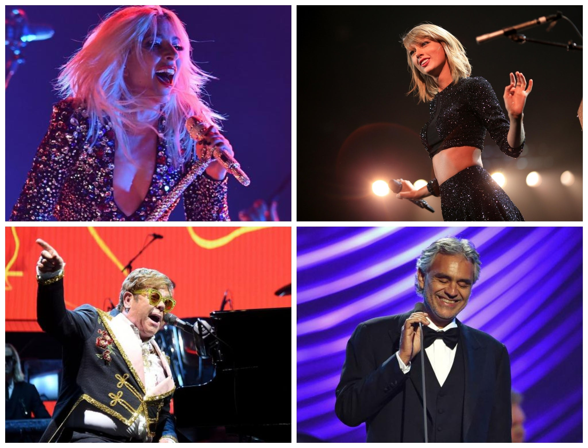 One World: Full list of scheduled performances, from Lady Gaga to Taylor Swift and Elton John thumbnail