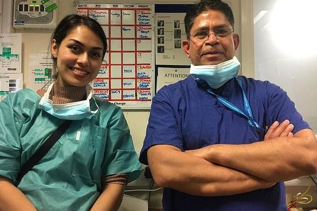 Coronavirus: Miss England who returned to work as NHS doctor 'concerned' about lack of PPE